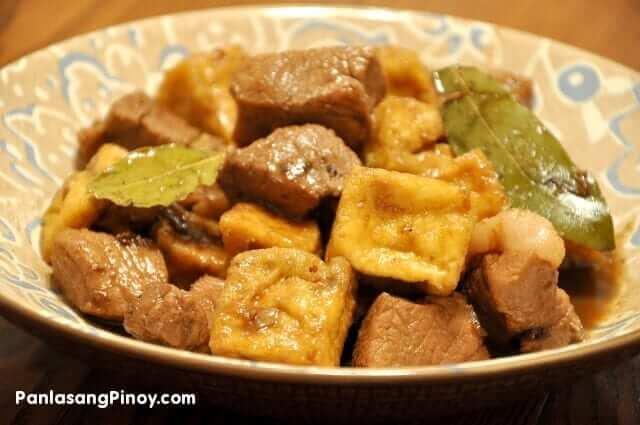 Pork Adobo with Tofu