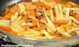 Ginisang Labanos Recipe