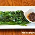 Kangkong with Bagoong Recipe