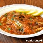 Ginisang Sardinas Recipe (Sautéed Sardines)