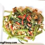 Kangkong and Tofu Stir Fry