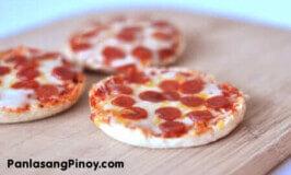 Easy English Muffin Pepperoni Pizza Recipe