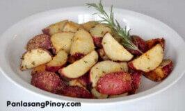Roasted Garlic Parmesan Red Potato Recipe
