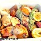 Baked Garlic Rosemary Chicken Recipe