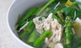 Chicken Asparagus Soup Recipe