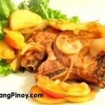 Apple Glazed Pork Chop Recipe