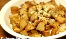 Baked Potato Parmesan Recipe