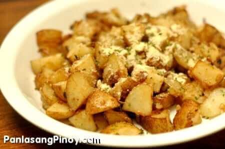 Baked Potato Parmesan