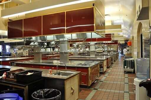 Culinary Institute of America Kitchen