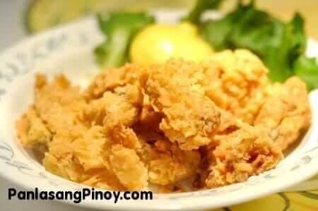 Crunchy Deep Fried Mussels