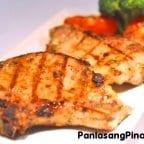 Grilled Brined Pork Chop Recipe