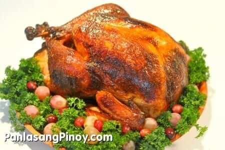 Cider and Star Anise Brined Roast Turkey