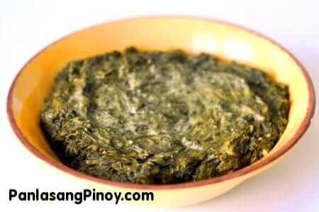 creamed spinach recipe