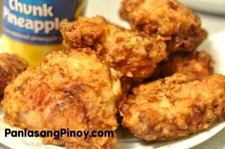Pineapple Fried Chicken
