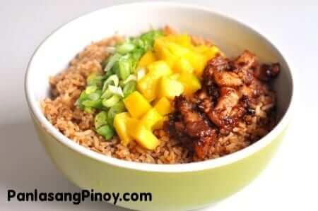 Bagoong Rice Recipe