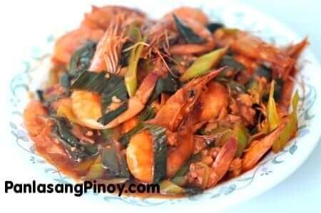 chili shrimp recipe