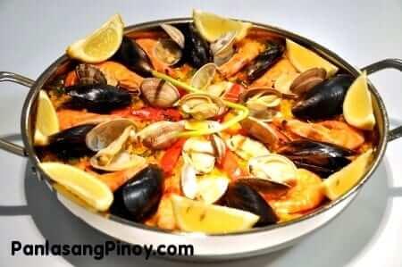 Paella de Marisco Recipe