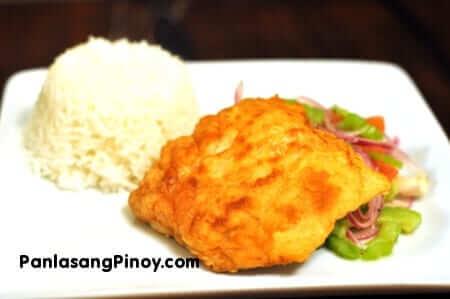 breaded fried salmon recipe