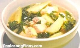 Easy Chicken Tinola Recipe
