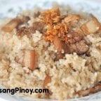 Filipino Pork Fried Rice Recipe