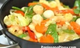 Scallop Chop Suey Recipe