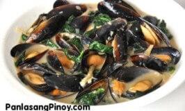 Ginataang Tahong Recipe