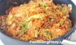 Vegetarian Pancit Sotanghon