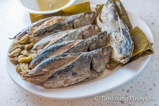Sinaing na Tulingan Recipe with Fish Sauce and Bilimbi