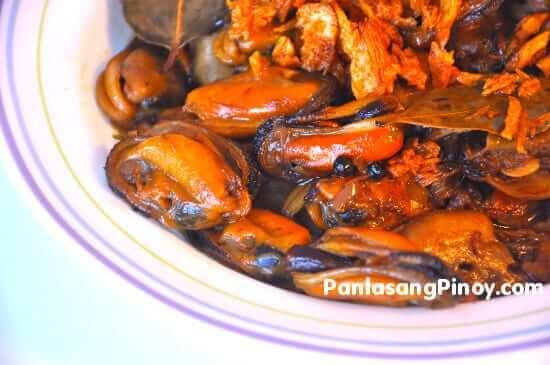 Adobong Tahong (Mussels Adobo)