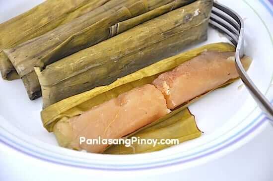 filipino cassava suman recipe