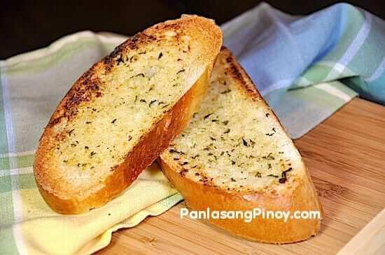 garlic bread recipe using french bread