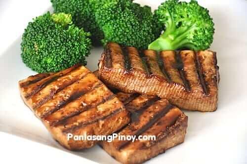 hoisin glazed grilled tofu recipe