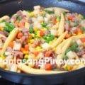 Baby-Corn-ham-and-jicama-stir-fry