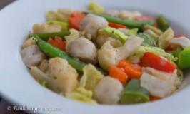 Squid Ball Chop Suey