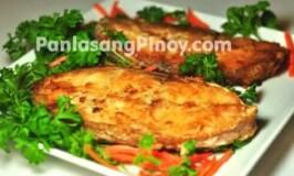 Fried Grouper Steak