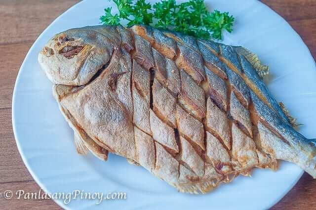 Fried Pompano Fish Recipe