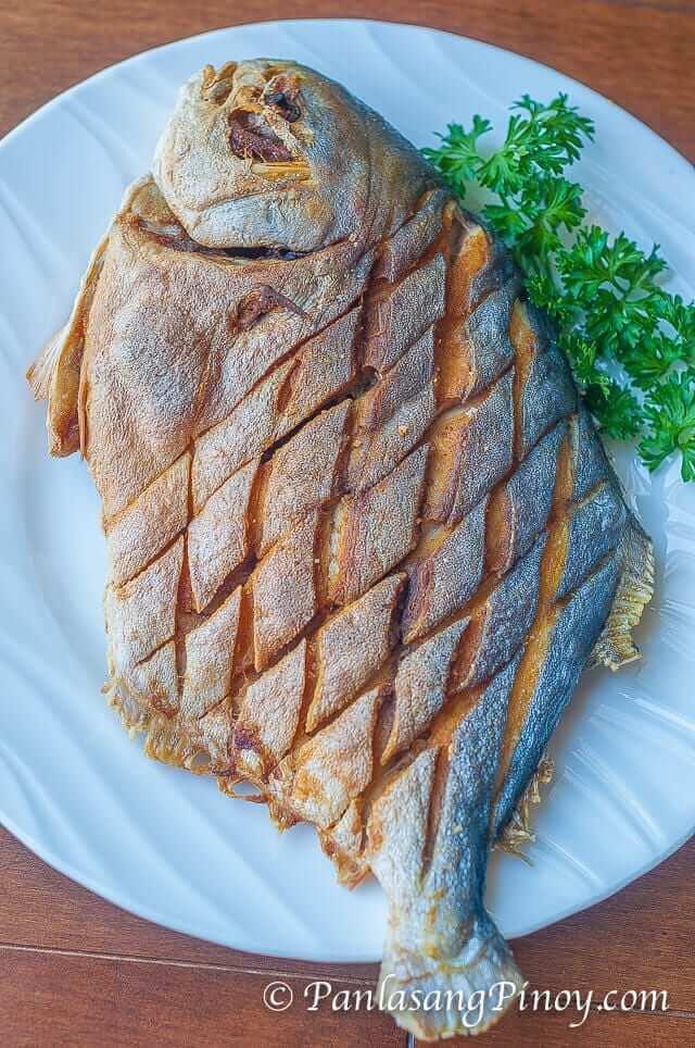 Fried Pompano Fish