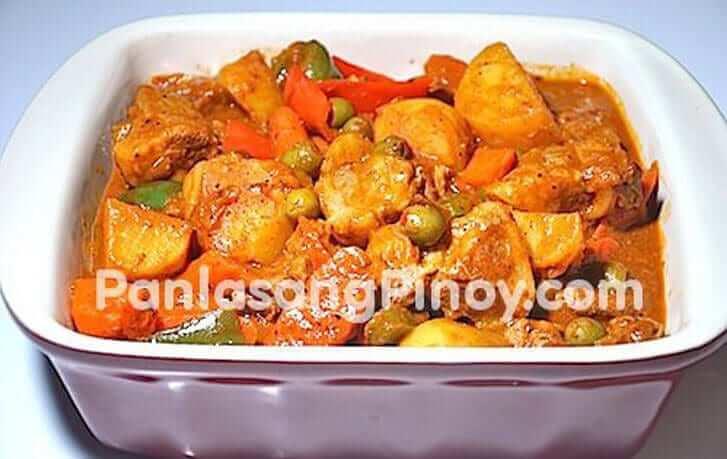 Pork Kaldereta Recipe Panlasang Pinoy