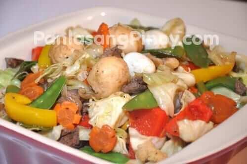 squid ball chop suey recipe