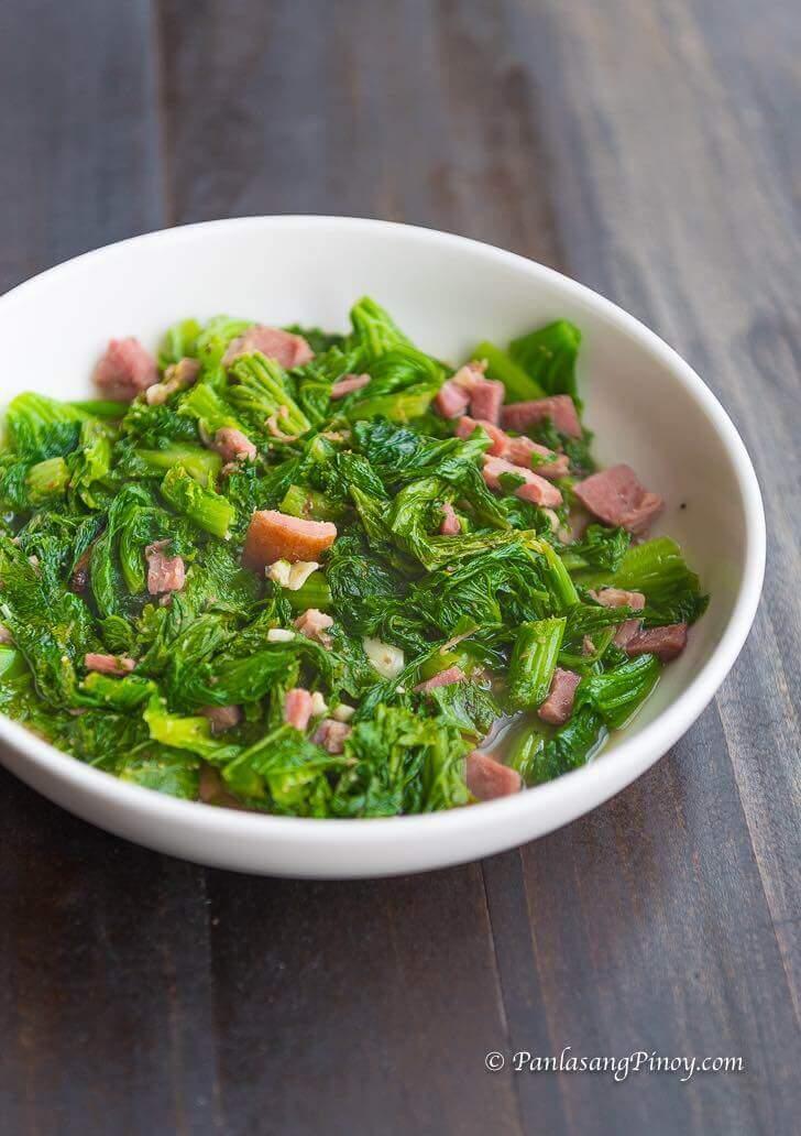braised collard greens with bacon recipe