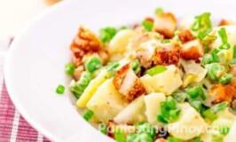 Fried Chicken Potato Salad