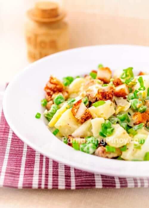 fried chicken potato salad recipe