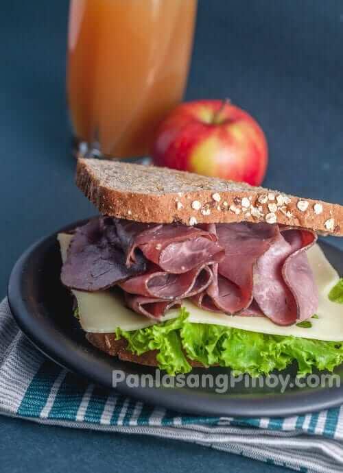 easy roast beef sandwich
