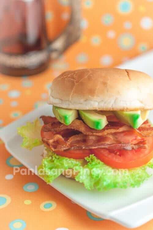 Bacon and Avocado Sandwich Recipe