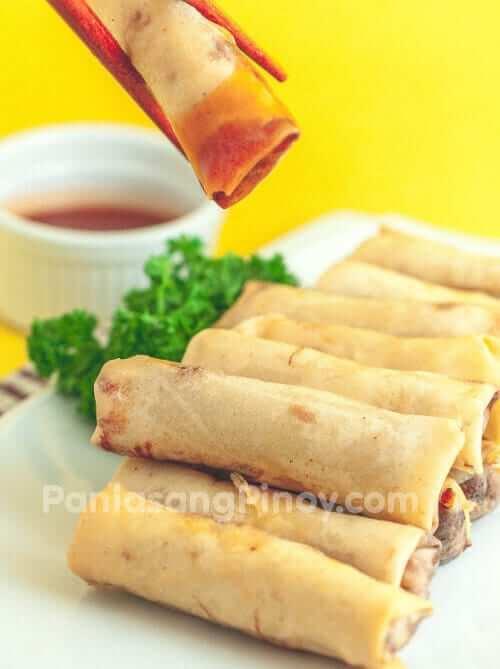 lumpiang shanghai recipe