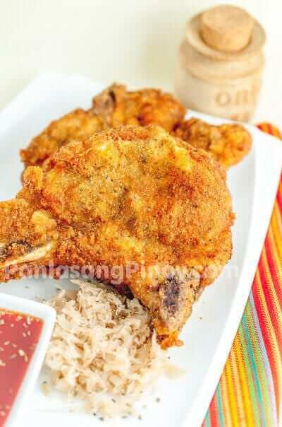 deep fried seasoned pork chop recipe