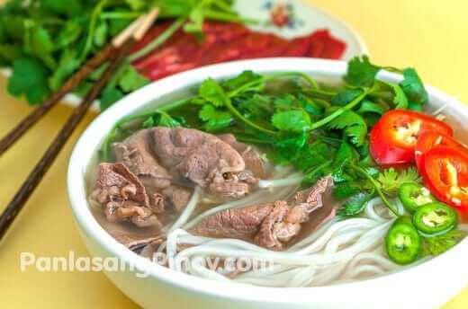 beef pho noodle soup recipe