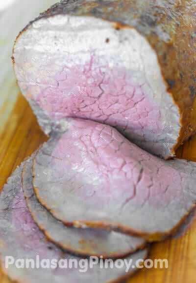 Brined Roast Beef Recipe