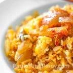 Simple Kimchi Fried Rice