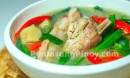 Linat an Recipe (Boiled Pork Soup with Lemongrass)